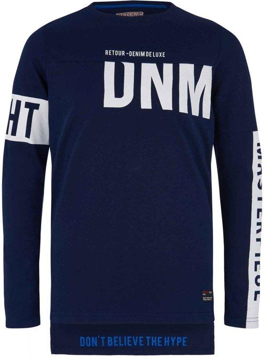 Retour Jeans Jongens T shirt Dark Indigo Blue Maat 146152