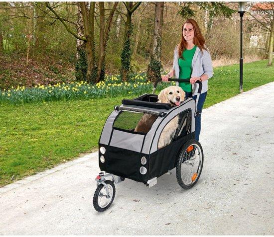 Flamingo Honden wandelkit Doggy Liner Berlin Jogger  - Grijs