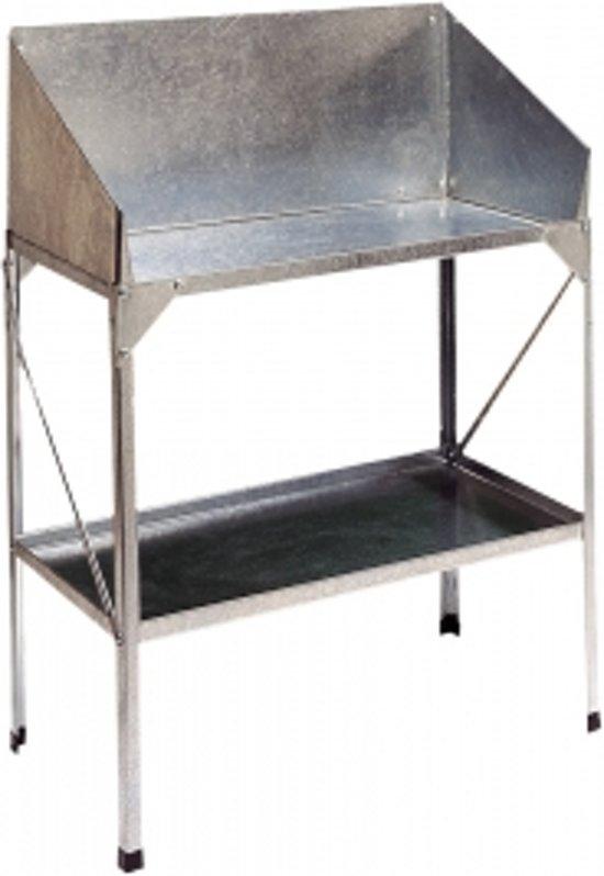 werktafel tuin oppottafel deluxe werktafel eigen werktafel maken werktafel vogue rvs. Black Bedroom Furniture Sets. Home Design Ideas