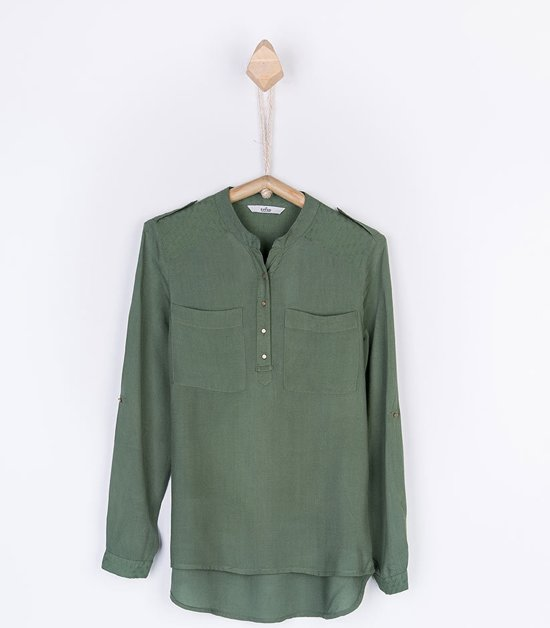 Blouse Of Overhemd.Bol Com Tiffosi Meisjes Blouse Overhemd Dolly Kleur Groen Maat 128