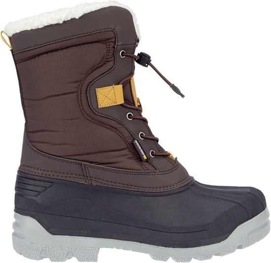 Winter Ii Bruin SrCanadian okergeel grip 46 Snowboots Explorer antraciet TFulK1Jc3