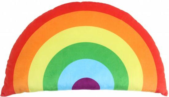 Bol kussen regenboog rood