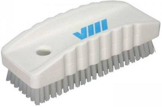 Nagelborstel / kleine werkborstel polyester vezels hard 118 x 45 x 38 mm max. 121° C.