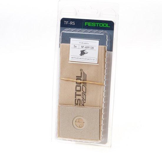 Festool rs400 489128 - Stofzuigerzakken - 5 stuks