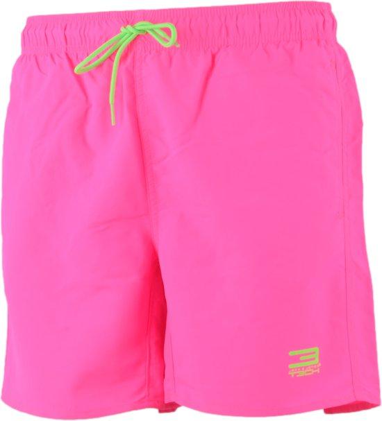 1c1e392145f6e2 Jack & Jones Basic Zwemshort Heren Zwembroek - Maat L - Mannen - roze/groen