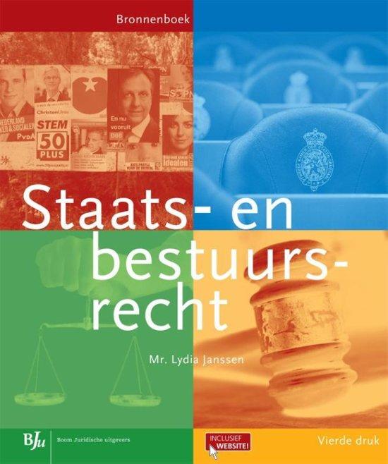 Bronnenboeken MBO Staats en bestuursrecht