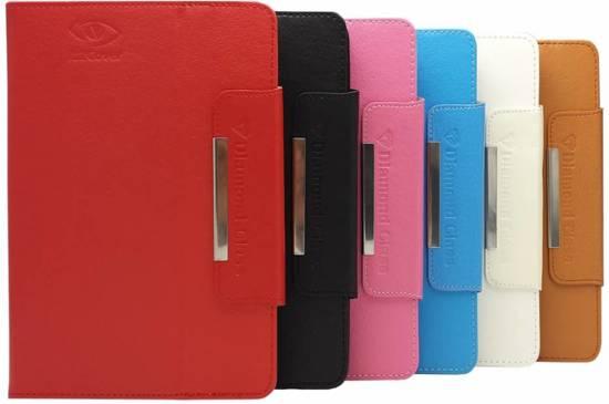 Hp Pro Tablet 408 G1 Diamond Class Hoes, Luxe Cover, Comfortabele Case, zwart , merk i12Cover