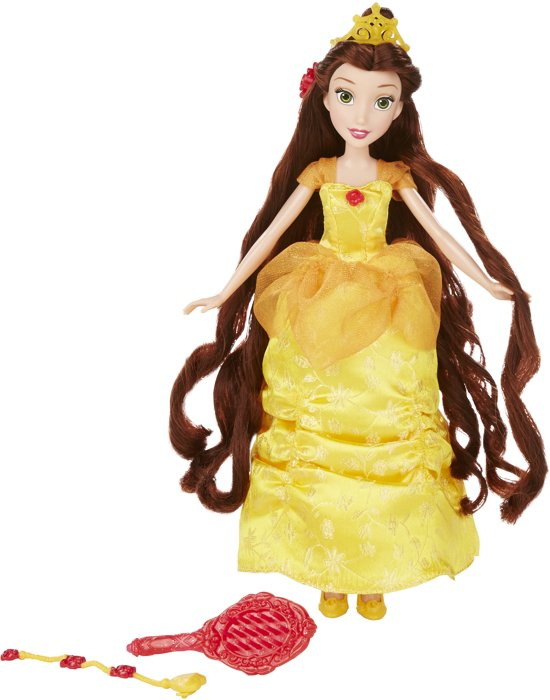 Disney Princess Belle Lange haren - Pop