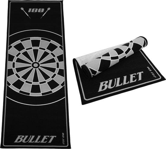 Dragon darts - Bullet Grijs 237x80 cm - dartmat – dart vloerkleed