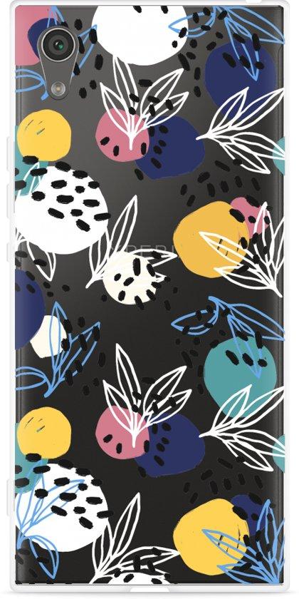 Sony Xperia XA1 Hoesje Abstract Flowers