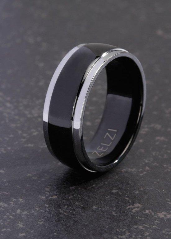 ZELZI Titanium ring: Leander 24 millimeter