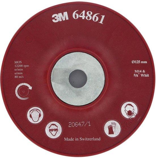 3M™ Steunschijf tbv fiberschijven voor Cubitron™ II 125 mm
