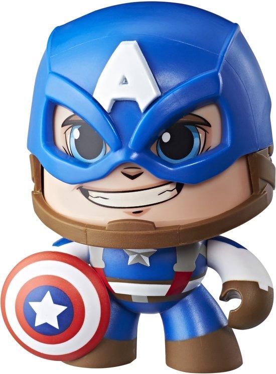 Marvel Mighty Muggs Captain America - Speelfiguur