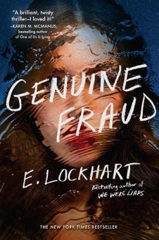 Boek cover Genuine Fraud van E. Lockhart (Paperback)