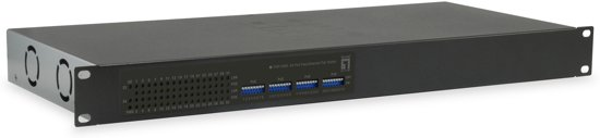 LevelOne FGP-3400W380 Unmanaged Fast Ethernet (10/100) Zwart Power over Ethernet (PoE)