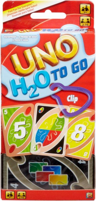 UNO H2O To Go - Kaartspel
