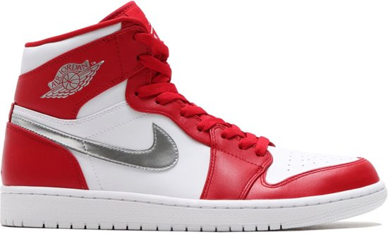 best website 31023 98ba9 Nike Air Jordan 1 Retro 705300-602 Rood Wit Zilver
