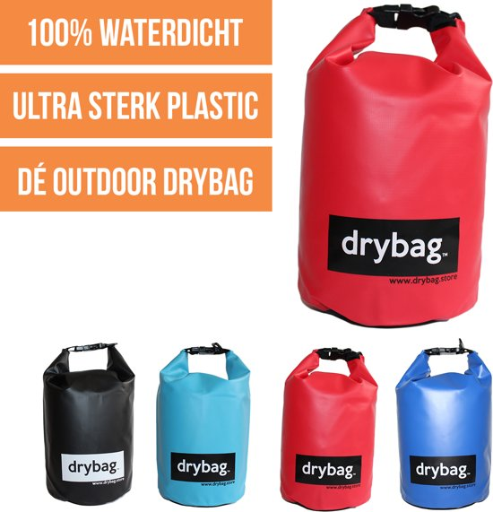 Drybag.store - waterdichte tas - 5l rood