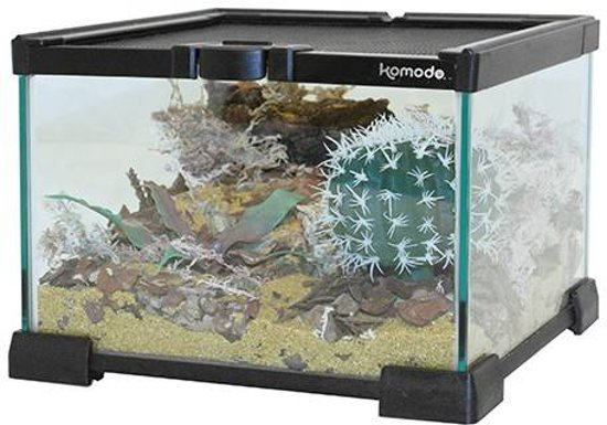 Komodo Nano Habitat Glazen Terrarium - 31X31X20 CM