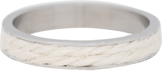 iXXXi Jewelry Vulring 4mm Rope White - maat 19
