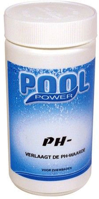 Pool power pH-min 1,5 kg flacon