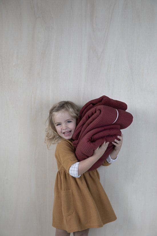 Little Dutch Slaapzak winter 70 cm - pure indian red