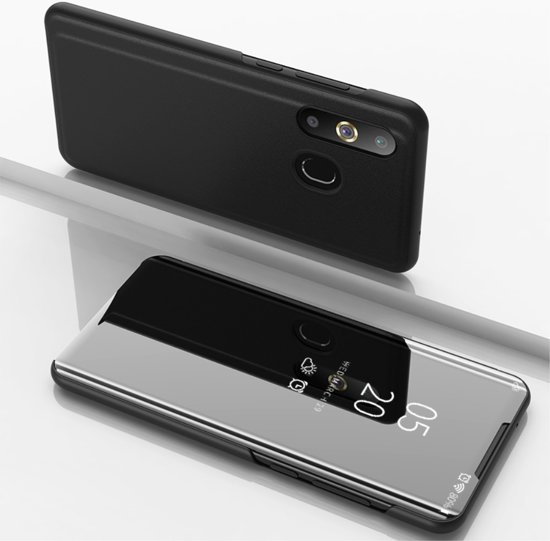 Samsung Galaxy A50 Hoesje - Mirror View Case - Zwart