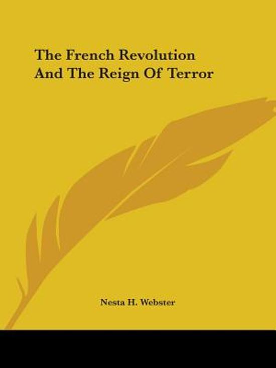the reign of terror as the climax of the french revolution