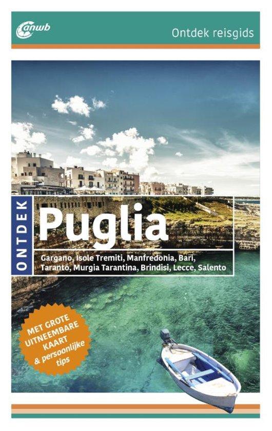 Boek cover ANWB Ontdek reisgids - Puglia van Jacqueline Christoph (Paperback)