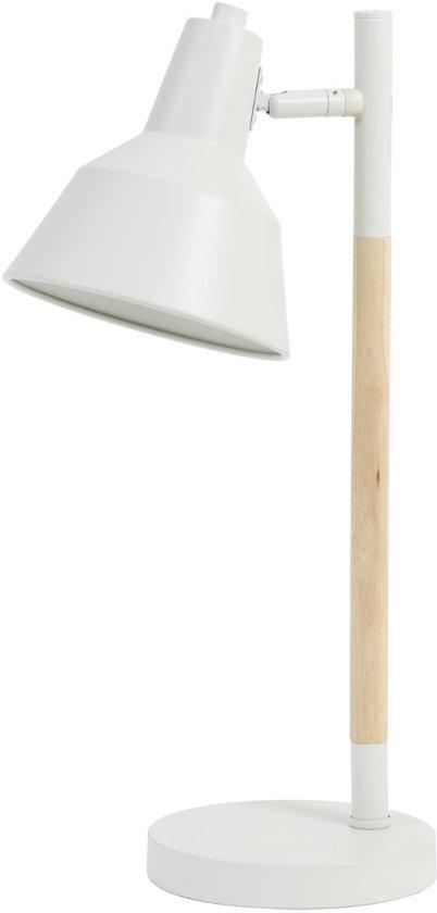 Light & Living Bureaulamp  WILLENA 24x17x51 cm  -  wit