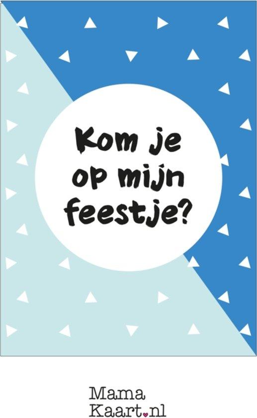 Uitnodigingen feestje - jongen - MamaKaart.nl