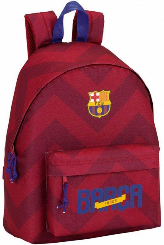 5a662a6e628 FC Barcelona Barca Rugzak - 40 cm - Bordeaux Rood
