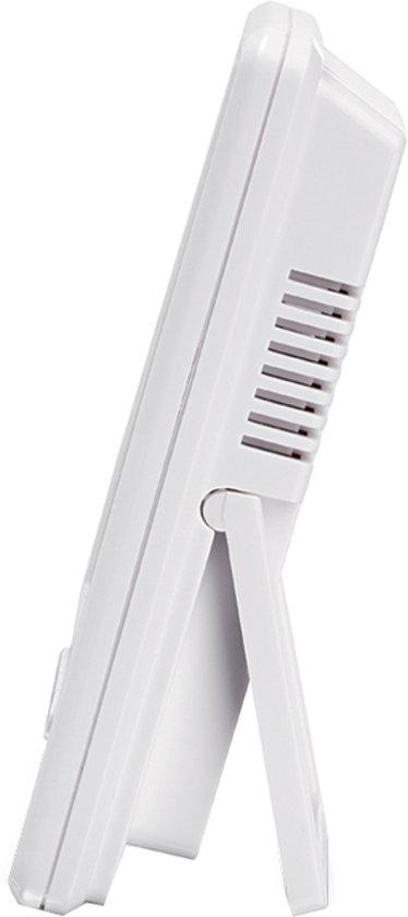 Topcom TH-4675 Thermometer/Hygrometer – Voor de babykamer – Wit