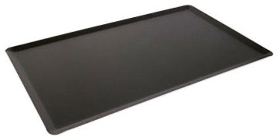 Bakplaat anti aanbaklaag dik aluminium | ptfe-coating | L: 60cm | B: 40cm | H: 1cm