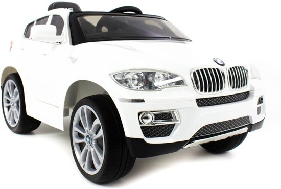 bmw x6 kinderauto wit bmw speelgoed. Black Bedroom Furniture Sets. Home Design Ideas