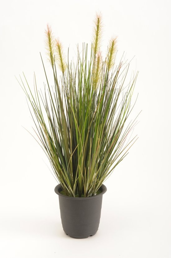 Emerald - Gras Plant - Kunstplant - In plastic pot - 45 cm - Groen