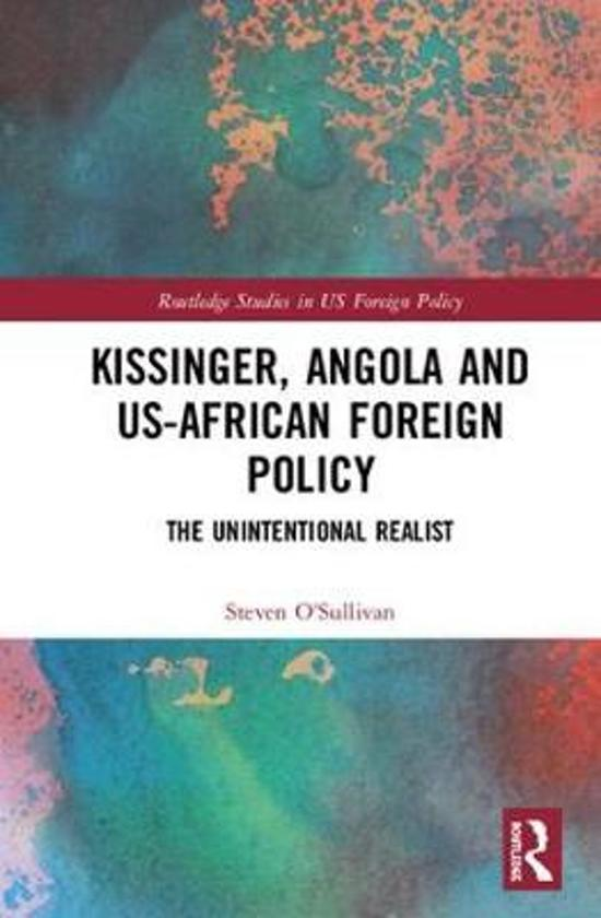 Kissinger, Angola and US-African Foreign Policy
