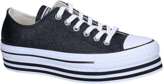 Zwarte Sneakers Converse AS Platform Layer OX