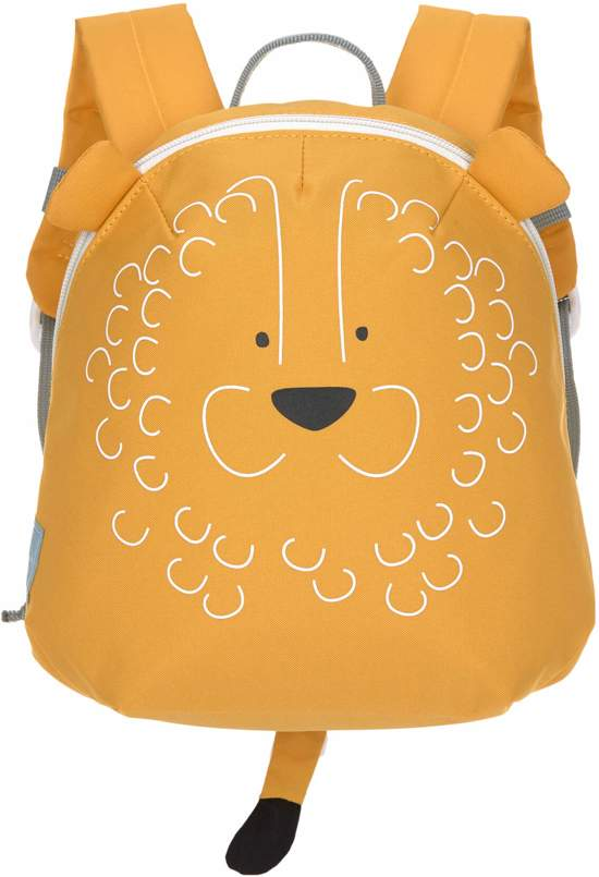 Tiny backpack lion