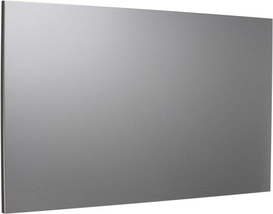 RVS Achterwand 90 x 70 cm