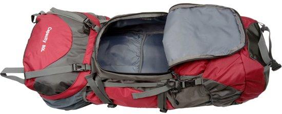 24f76925aa8 bol.com   Beefree 80 Liter nylon Backpack - Oranje   Inclusief  flightbag/regenhoes