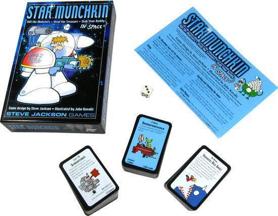 Thumbnail van een extra afbeelding van het spel Star Munchkin - Kaartspel