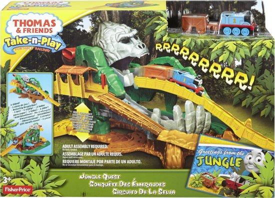 Thomas de Trein - Take-N-Play Jungle Avontuur - Treinbaan