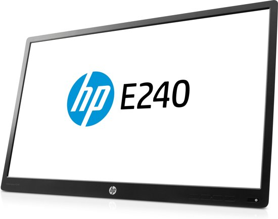 HP EliteDisplay E240 Head Only 23.8'' Full HD LED Zwart computer monitor