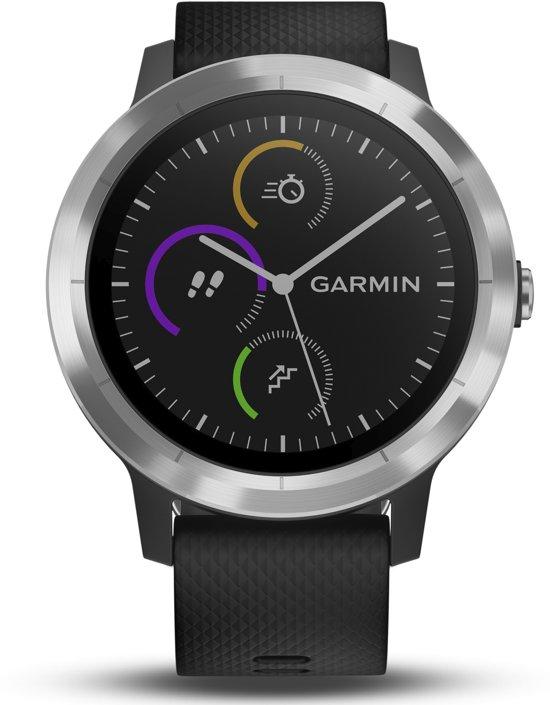 Garmin Vivoactive 3 - Smartwatch - Zwart/Zilver