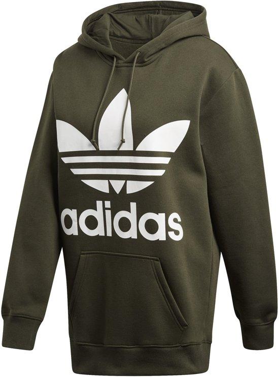 adidas Boyfriend Trefoil Hoodie Originals Sporttui Dames - Night Cargo 274f238e32