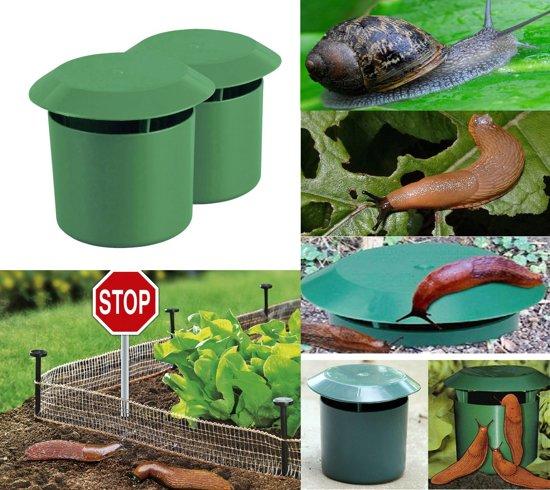 ProGarden Slakkenval - 2 stuks - Anti-slakken - Lokmiddel slakken - Tegen slakken - Slakken verjagen - Bier slakkenval - Slakkenvangpot - Slakkenvallen - Val voor Slakken - Slakken Val