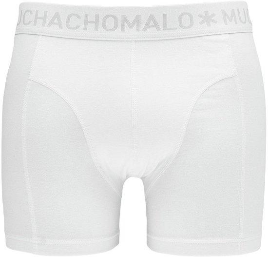 Muchachomalo Boxers Basic 2-pack Heren - Wit - XXL