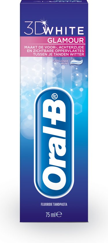 Oral-B White Glamour 3D - 75 ml - Tandpasta