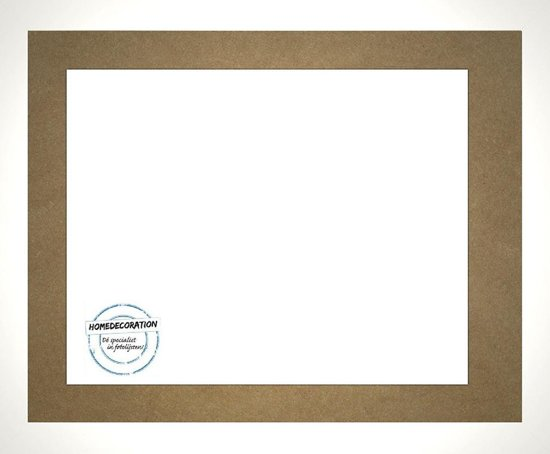 Homedecoration Misano – Fotolijst – Fotomaat – 61 x 98 cm  – Wit hoogglans